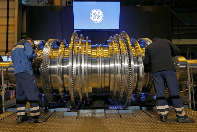 © Reuters.  General Electric Earnings miss, Revenue beats In Q2