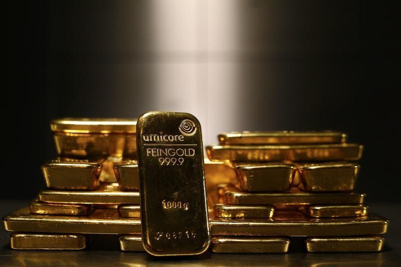 Gold Comes Within Hair's Breadth of $1,800, A First Since Feb.