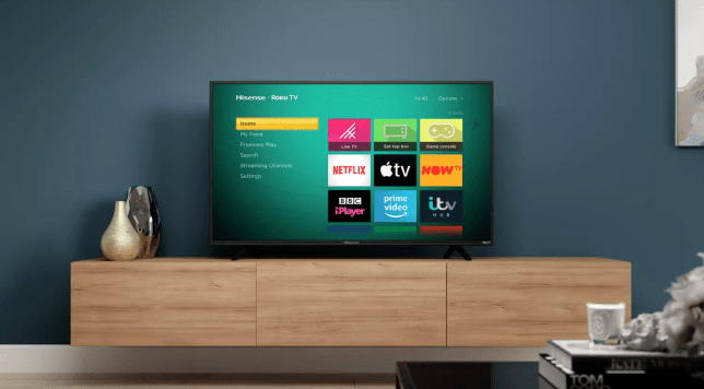 The Hisense Roku TV is an excellent budget buy (Hisense)