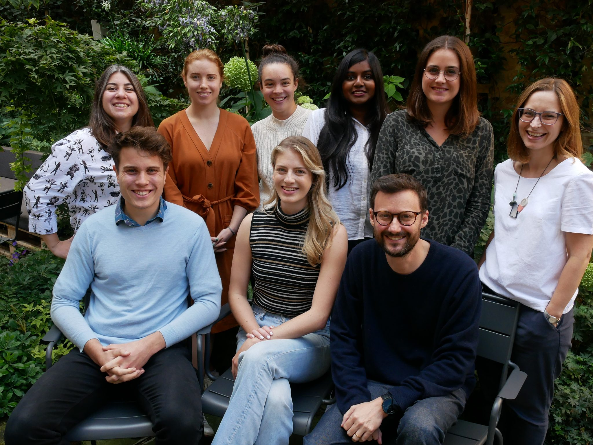 Impact investing team at Bethnal Green Ventures