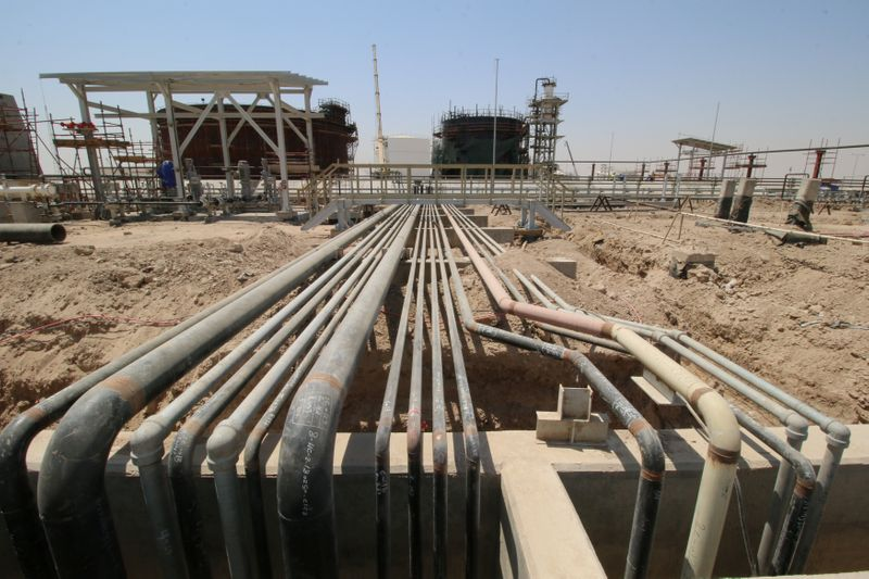 © Reuters. A general view of the gas field in Basra