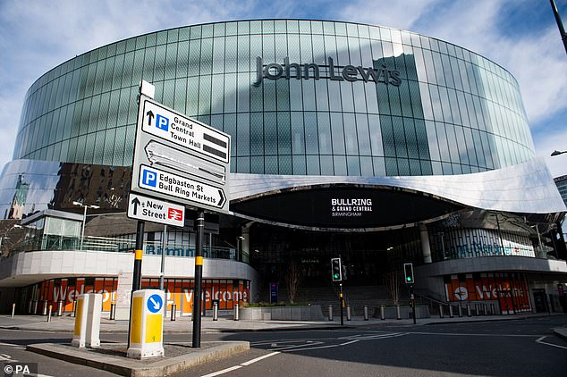 Closed for good: One John Lewis store in Birmingham will never be reopened