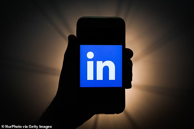 LinkedIn is being sued after its app was found reading users' clipboards by Apple's iOS 14 (stock)