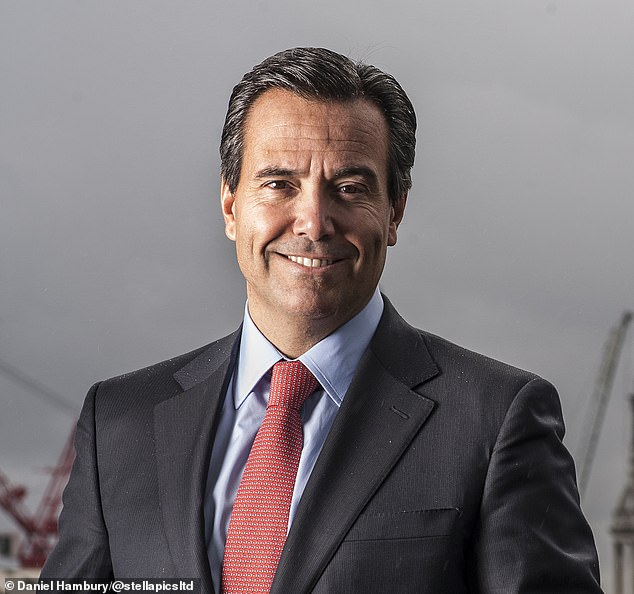 Reeling: Lloyds, headed by Antonio Horta-Osorio,  said total provisions for the year could rise to between £4.5billion and £5.5billion