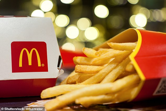 Biting back:Around 96 per cent of of McDonald's restaurants are now open for business