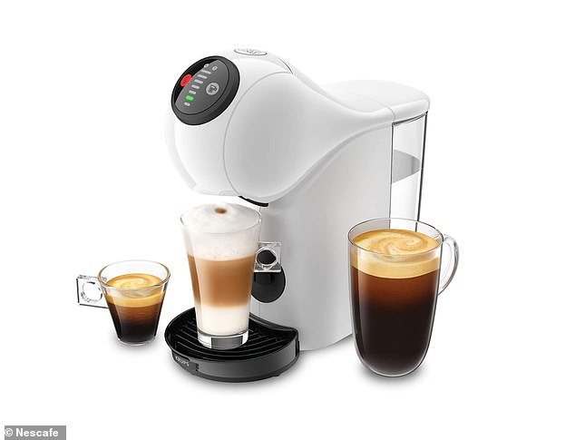 This sleek, white machine is small and ultra-compact (slightly larger your average-sized kettle), so you don't have to compromise on professional-quality coffee or countertop space