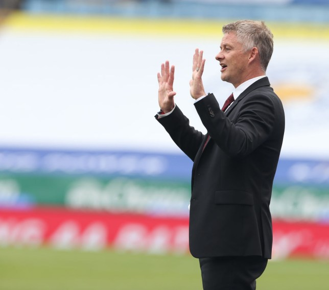 Solskjaer had a strong message for his critics