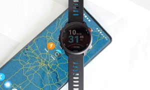 Garmin Connect synchs performance data from sporting activities, such as running, swimming and cycling, with smartphone apps such as Strava.