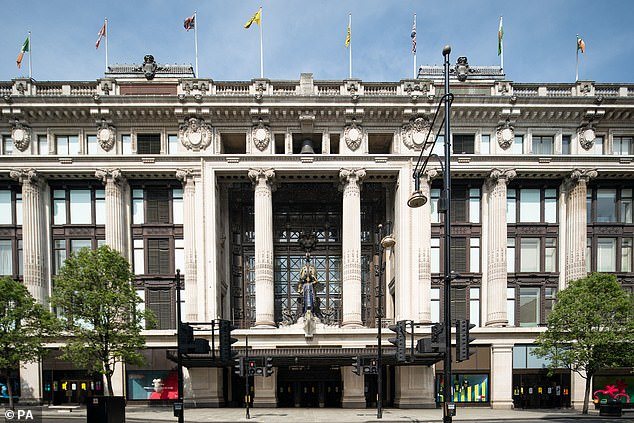 """Selfridges - pictured - has said it plans to cut 450 jobs from its stores as it faces the """"toughest year"""" in its recent history"""