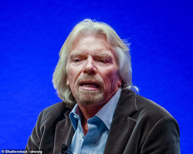 Digging deep: Sir Richard Bransonwill use money raised from selling a £396m stake in Virgin Galactic