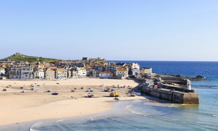 St Ives in Cornwall.