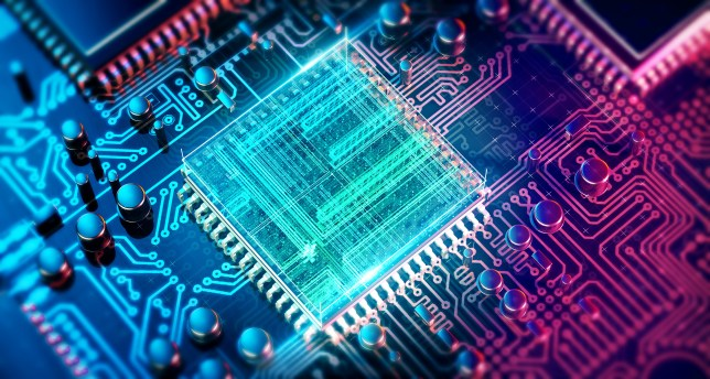 Quantum computing is the focus of a new internet being developed in the US (Getty)