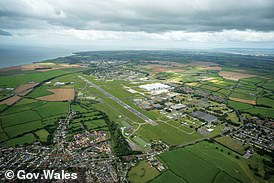 Could this be the home of the UK's first battery gigafactory? The St Athan site in Wales