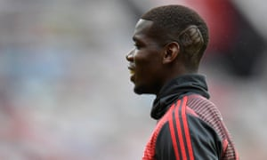 Manchester United's Paul Pogba is sporting a haircut in support of the Black Lives Matter campaign.