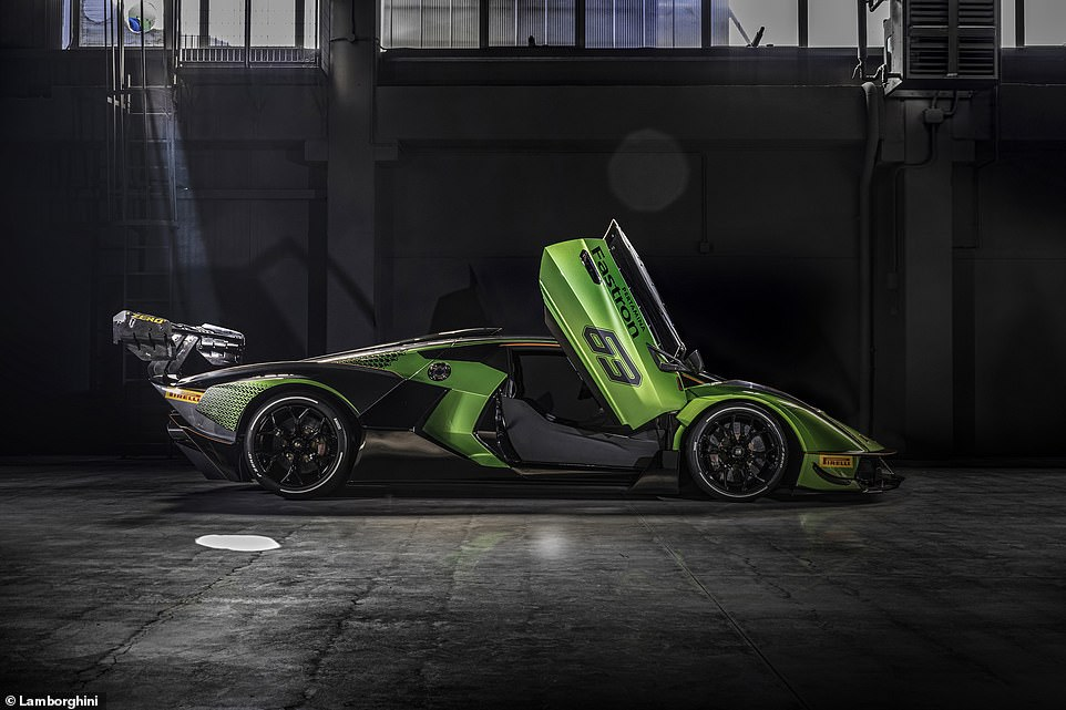 How do the doors open? Upwards of course! If you're going to spend a hefty sum on a Lamborghini, it should have the correct doors