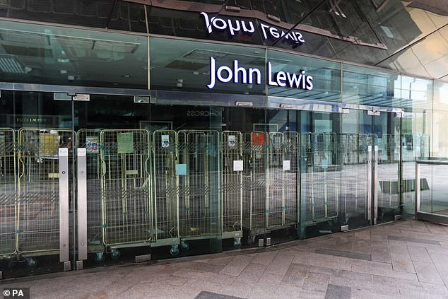 Glimmer of hope?John Lewis added that if redundancies are confirmed, 'every effort' will be made to find new roles for partners
