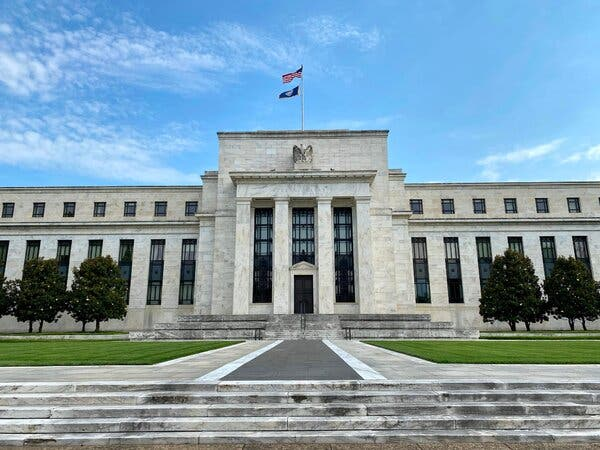 The Federal Reserve Board building in Washington, D.C.
