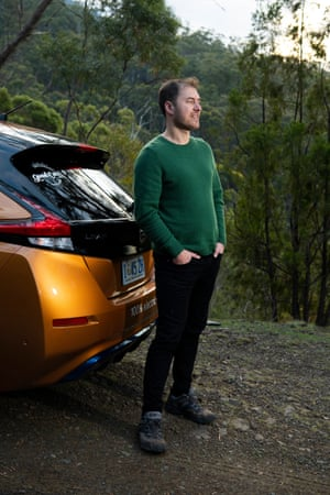 Anthony Broese van Groenou, Co founder of the Good Car Company an electric car company based in Hobart.