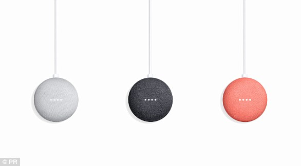Google Home Mini:  Google's clever tech-filled $49 (£34) doughnut can do almost everything  its bigger voice controlled Google Assistant powered sibling can do, including answer questions and control third-party devices.