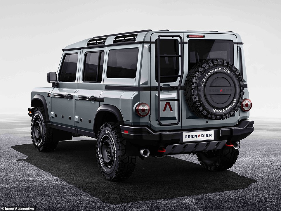 Grenadier is a boxy, brutish 4X4 that's aimed at multiple markets. While the majority of customers are likely to be farmers and agricultural types, it will also be aimed at lifestyle buyers and those obsessed with serious offroading