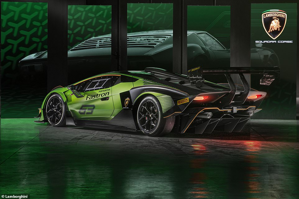 It's the spiritual successor to the mighty DIablo GTR launched 20 years ago, featuring a similarly aggressive aero package