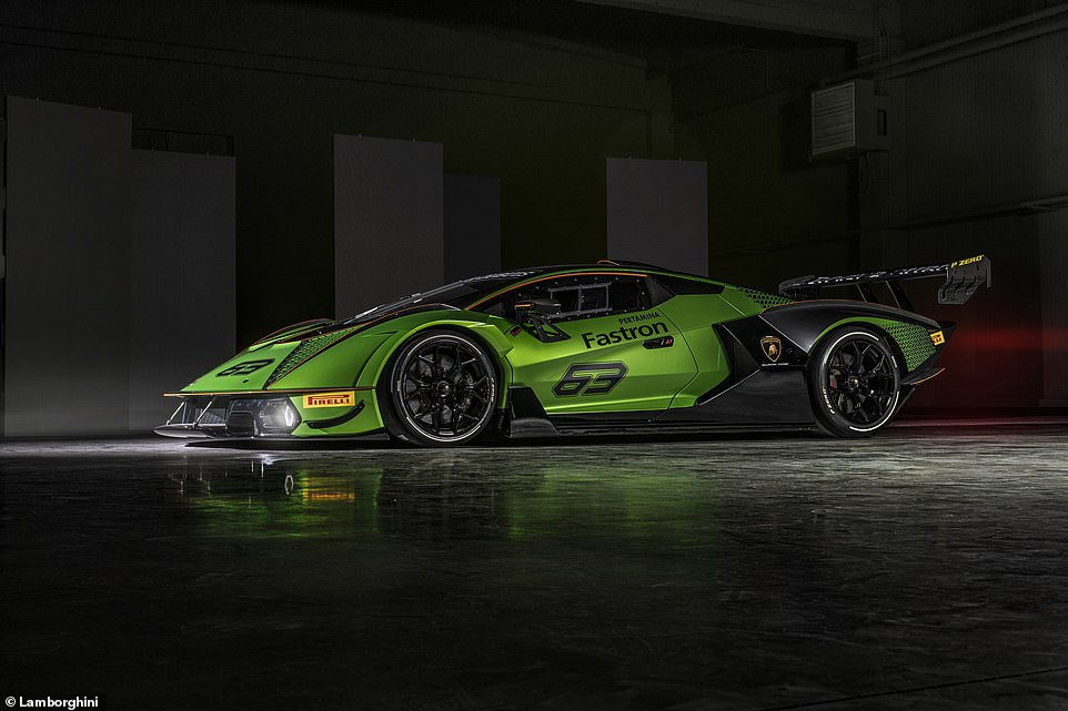 This is the most extreme version of Lamborghini's V12 engine available to customers. It's an upgrade of the 6.5-litre unit taken from the already potent Aventador SVJ, then tuned with a racier exhaust, fuel system and ECU to generate upwards of 820bhp