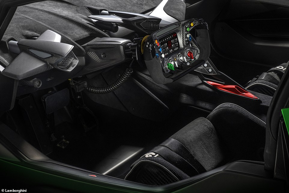 Customers best get swatting up before they go out on track, as the volume of buttons on the steering wheel and dash would send the likes of Lewis Hamilton into a spin