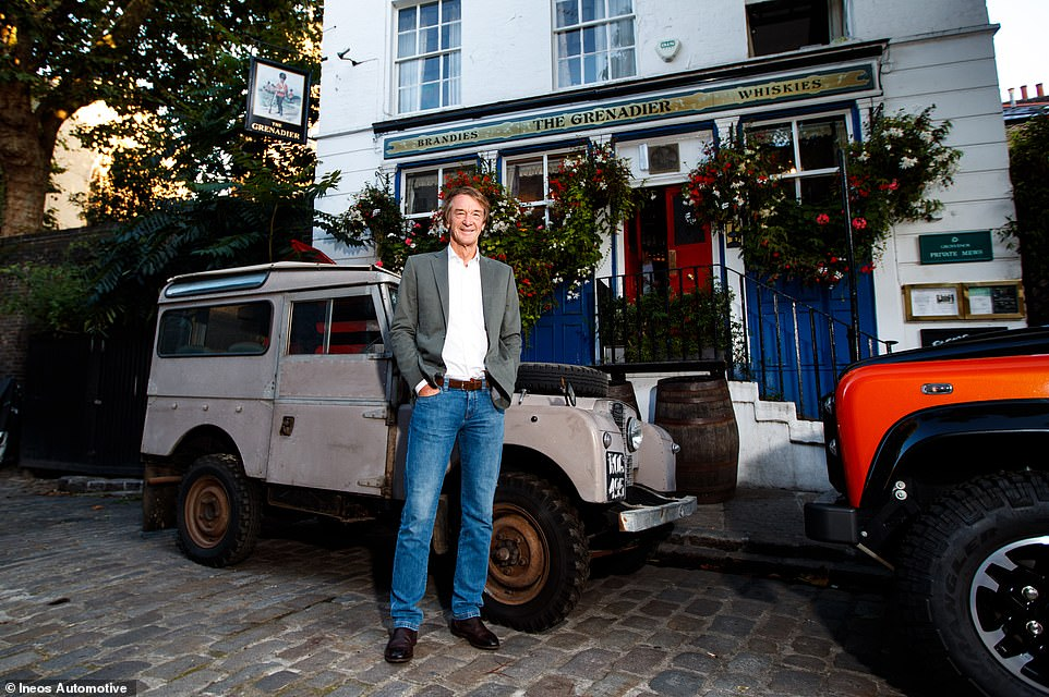 Sir Jim Ratcliffe announced his plans to create a spiritual successor to the Land Rover Defender soon after the previous-generation model went out of production in early 2016