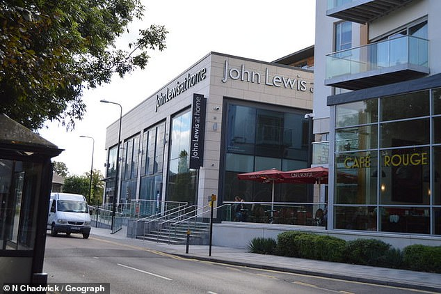 Gone for good: The John Lewis shop in Newbury will be staying shut