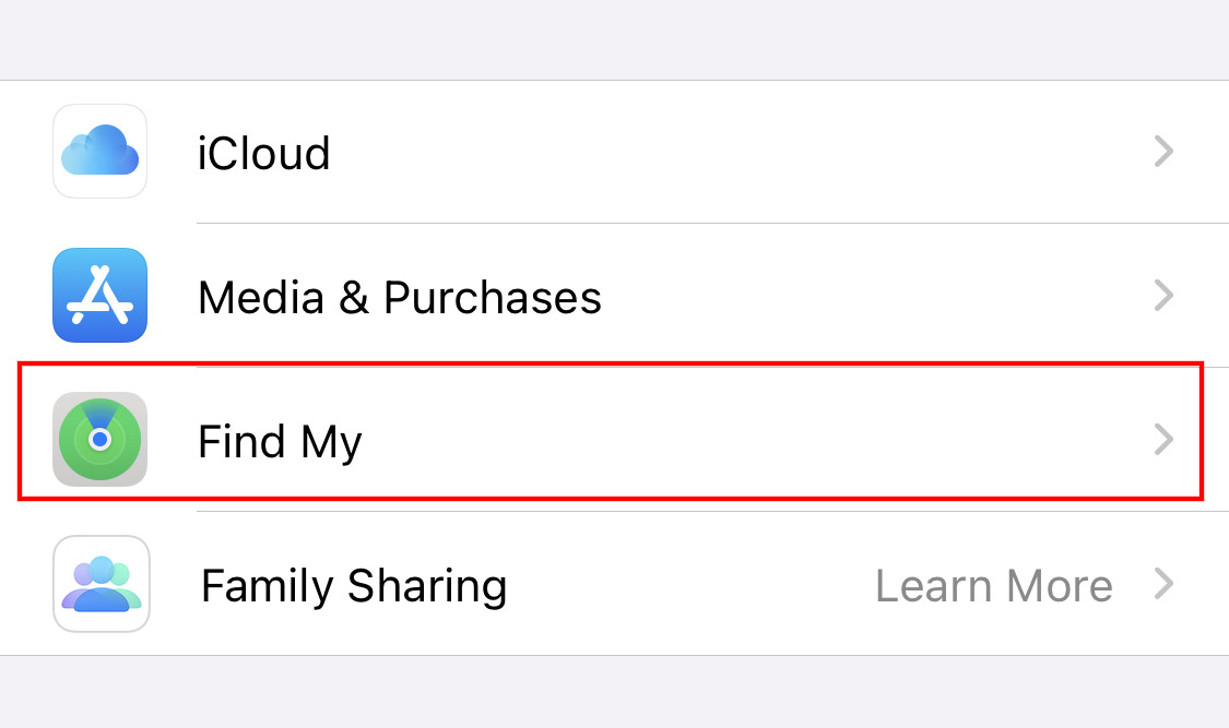 disable-find-my-iphone-2