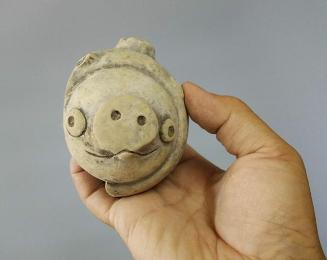 It's 3,000 years old but it looks strangely familiar (Provincial Archaeological Institute)