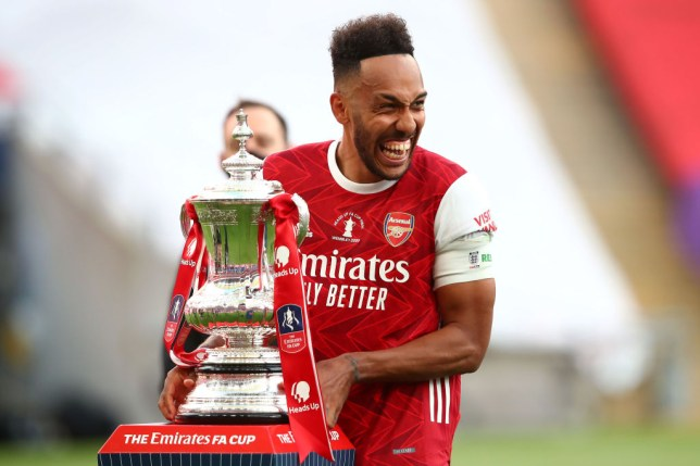 Van Persie says the FA Cup may not be enough for Aubameyang