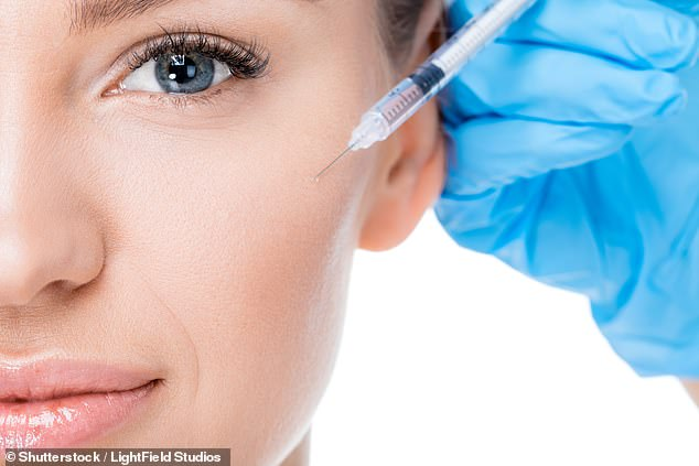 Botox injections don't just banish wrinkles, but could also help to treat depression ¿ a condition experienced by some 264 million people, a study has suggested (stock image)