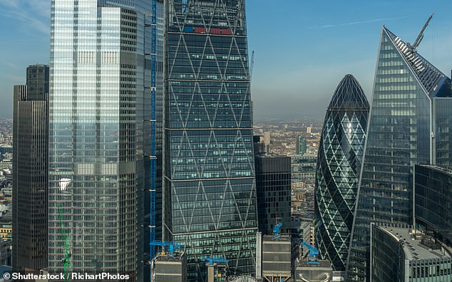 On the rise: Because of the strain put on company finances by the pandemic, the EY Item Club said business lending was set to grow by 14.4 per cent this year