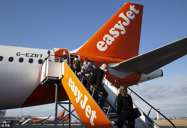 Take-off: Demand for last-minute summer holidays has been so much better than expected that budget airline Easyjet has now expanded its schedule