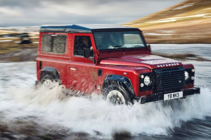 There has been a 31% rise in the theft of Land Rover Defenders, which are in high demand