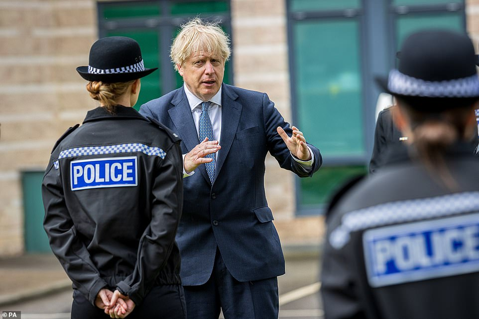Today's announcement by the Scottish government will heap pressure on Boris Johnson (pictured today) to do the same in England