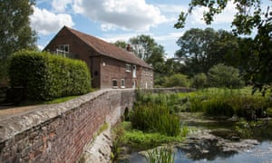 A converted mill on the River Nar near Castle Acre.