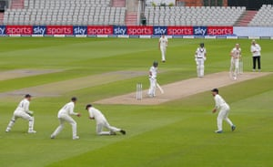 Shafiq, caught by Stokes.