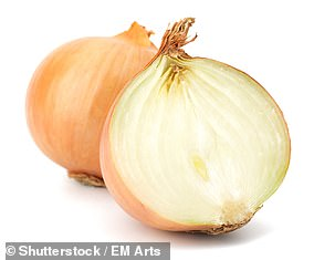 Onions are rich in quercetin, a plant chemical that has been shown in laboratory and animal studies to dampen the production of histamine