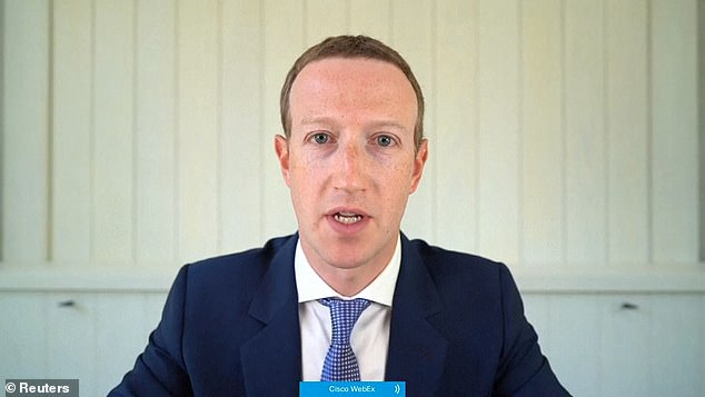 Facebook CEO Mark Zuckerberg (pictured) announced in June that the platform would remove posts that encourage violence or voter suppression. This week, the company announced a blanket ban on blackface and antisemitic conspiracy theories.