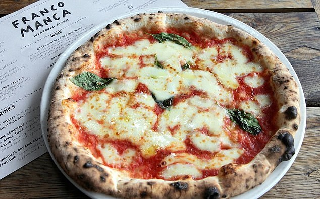 In demand: Sales at pizza chain Franco Manca were up 30 per cent over the first three days last week compared to last August