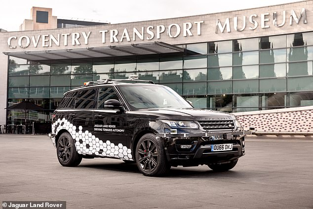 JLR says the technology will partly help it to achieve its Destination Zero target for the future - the aim to have zero emissions, zero accidents and zero congestion