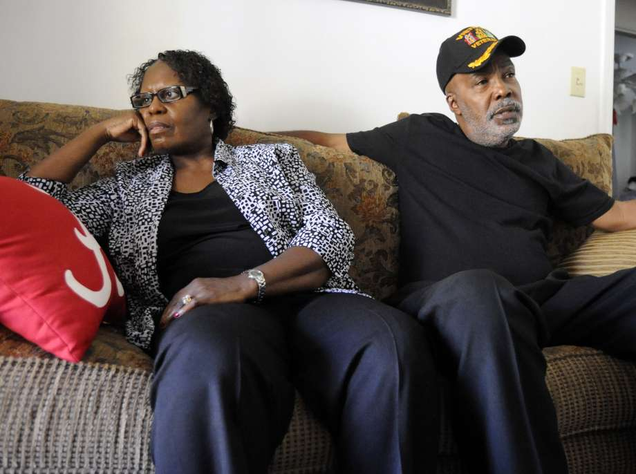 FILE - In this Nov. 16, 2016 file photo, Sarah Collins Rudolph and her husband, George Rudolph, discuss their worries about the upcoming Donald Trump presidency in their home in Birmingham, Ala..  Rudolph, the survivor of the 1963 church bombing that killed four little girls, is seeking an apology and restitution from the state of Alabama. Photo: Jay Reeves, AP / Copyright 2016 The Associated Press. All rights reserved.