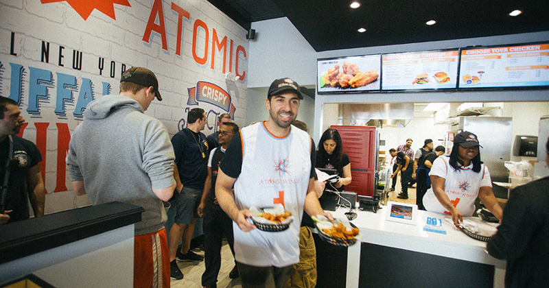 Atomic Wings CEO