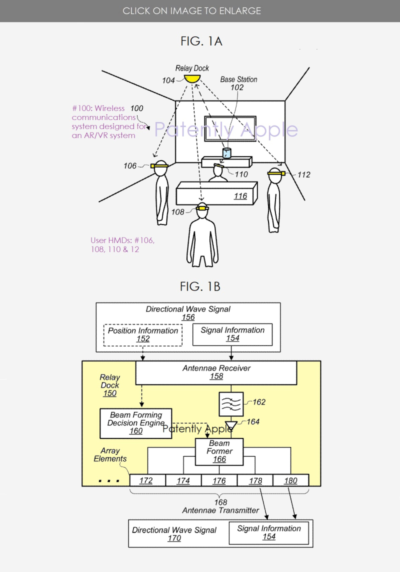 2 Apple Wireless system for AR-VR SYSTEM IN WORK GROUP  OFFICE -  PATENTLY APPLE REPORT POSTED SEPT 12  2020