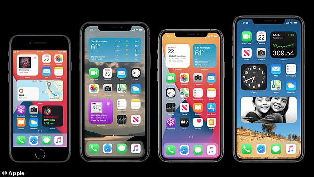 After months of anticipation, Apple released its new iOS 14 Wednesday, September 16 - although there was no sign of the new iPhone 12 as expected