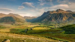 Little Langdale in the Lake District