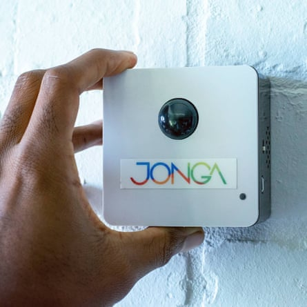As well as having a motion sensor and siren, the alarm connects to an app that sends messages to pre-selected contacts when triggered.