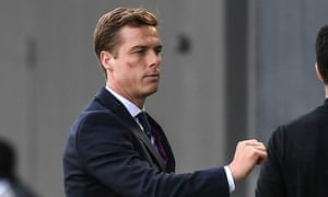 The Fulham manager, Scott Parker